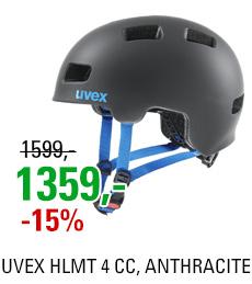 UVEX HLMT 4 CC, ANTHRACITE MAT 2020
