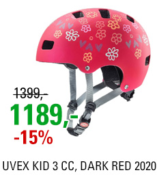 UVEX KID 3 CC, DARK RED 2020