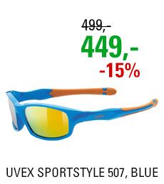UVEX SPORTSTYLE 507, BLUE ORANGE (4316) 2020