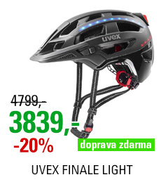 UVEX FINALE LIGHT, BLACK 2020