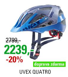UVEX QUATRO, BLUE MAT 2020