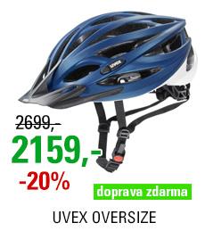 UVEX OVERSIZE, BLUE-WHITE MAT 2020