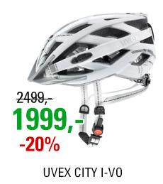 UVEX CITY I-VO, WHITE MAT 2020