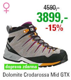 Dolomite Crodarossa Mid GTX Women Pewter Grey/Pansy Purple