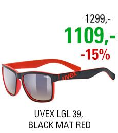 UVEX LGL 39, BLACK MAT RED (2316) 2020