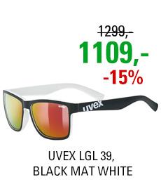 UVEX LGL 39, BLACK MAT WHITE (2816) 2020