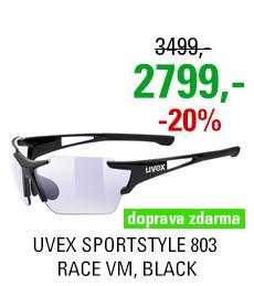 UVEX SPORTSTYLE 803 RACE VM, BLACK (2203) 2020