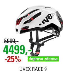 UVEX RACE 9, WHITE 2020