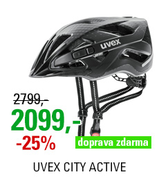 UVEX CITY ACTIVE, BLACK MAT 2020