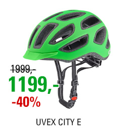 UVEX CITY E, NEON GREEN MAT