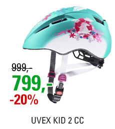 UVEX KID 2 CC, MINT UNICORN MAT 2020
