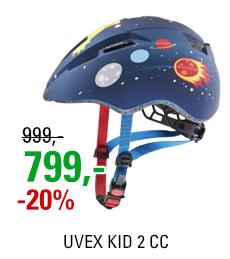 UVEX KID 2 CC, DARK BLUE ROCKET MAT 2020