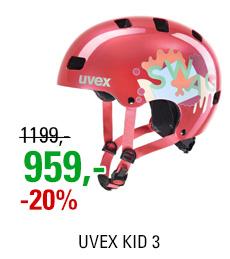 UVEX KID 3, CORAL 2020