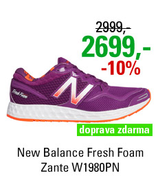 New Balance Fresh Foam Zante W1980PN