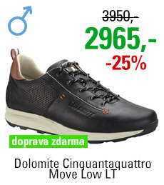 Dolomite Cinquantaquattro Move Low LT Black