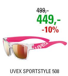 UVEX SPORTSTYLE 508 CLEAR PINK (9316) 2020