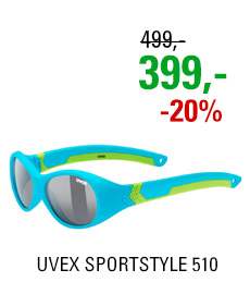 UVEX SPORTSTYLE 510, BLUE GREEN MAT (4716) 2020