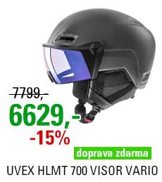 UVEX HLMT 700 VISOR VARIO black mat S566239200 20/21
