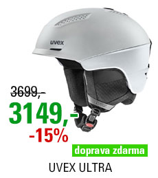 UVEX ULTRA silver-black mat S566248100 20/21