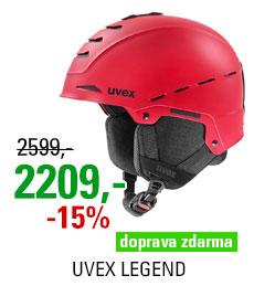 UVEX LEGEND red mat S566246400 20/21