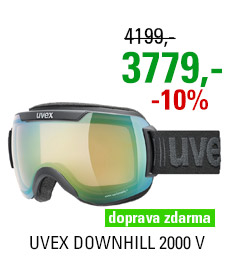 UVEX DOWNHILL 2000 V black mat/mir green vario clear S5501232130 20/21