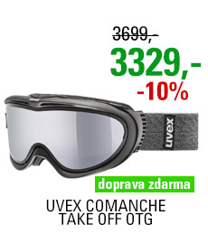 UVEX COMANCHE TAKE OFF OTG black mat/mir silver lgl/clear S5512099326 20/21