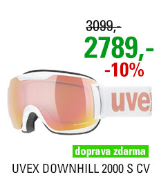 UVEX DOWNHILL 2000 S CV white/mir rose colorvision orange S5504471030 20/21
