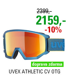 UVEX ATHLETIC CV OTG underwater mat/mir orange colorvision green S5505277130 20/21