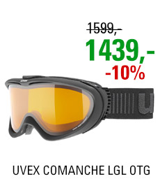 UVEX COMANCHE LGL OTG black mat/lgl clear S5510922629 20/21