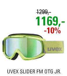 UVEX SLIDER FM OTG lightgreen/mir green lgl S5500267030 20/21