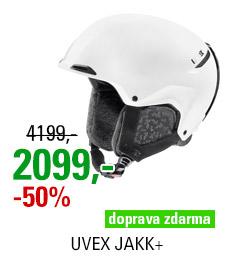 UVEX JAKK+ style white mat S566208100