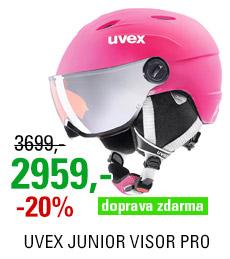 UVEX JUNIOR VISOR PRO pink mat S566191900 20/21