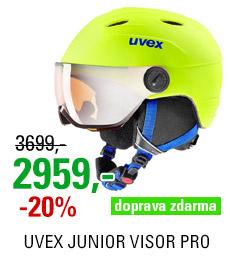 UVEX JUNIOR VISOR PRO neon yellow mat S566191600 20/21