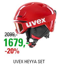 UVEX HEYYA SET red-black S56S251100 20/21