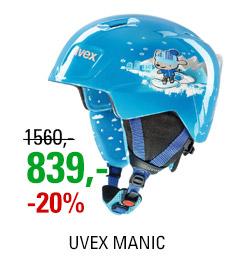 UVEX MANIC blue snow dog S566226400