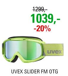 UVEX SLIDER FM OTG lightgreen/mir green lgl S5500267030 20/21