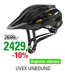 UVEX UNBOUND, ALL BLACK MAT 2020