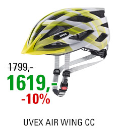 UVEX AIR WING CC, GREY-LIME MAT 2021