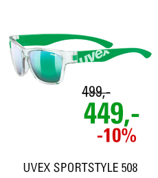 UVEX SPORTSTYLE 508, CLEAR GREEN (9716) 2021