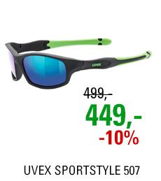 UVEX SPORTSTYLE 507, BLACK MAT GREEN (2716) 2021