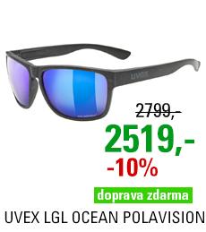 UVEX LGL OCEAN POLAVISION, BLACK MAT (2240) 2021