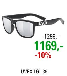 UVEX LGL 39, BLACK MAT (2216) 2021
