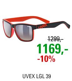 UVEX LGL 39, BLACK MAT RED (2316) 2021