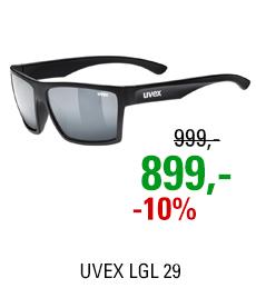 UVEX LGL 29, BLACK MAT/MIR. SILVER (2216) 2021