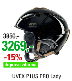 UVEX P1US PRO Lady, black skyfall S566179200