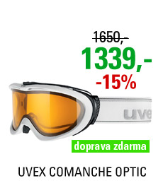 UVEX COMANCHE OPTIC, white mat/lasergold lite S5510921029