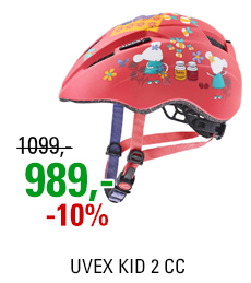 UVEX KID 2 CC, CORAL MOUSE MAT 2021