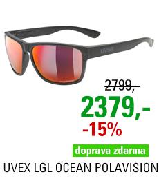 UVEX LGL OCEAN POLAVISION, BLACK MAT (2230) 2021