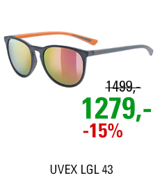 UVEX LGL 43, GREY MAT (5516) 2021
