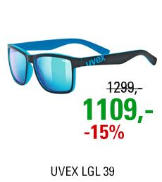 UVEX LGL 39, BLACK MAT BLUE (2416) 2021